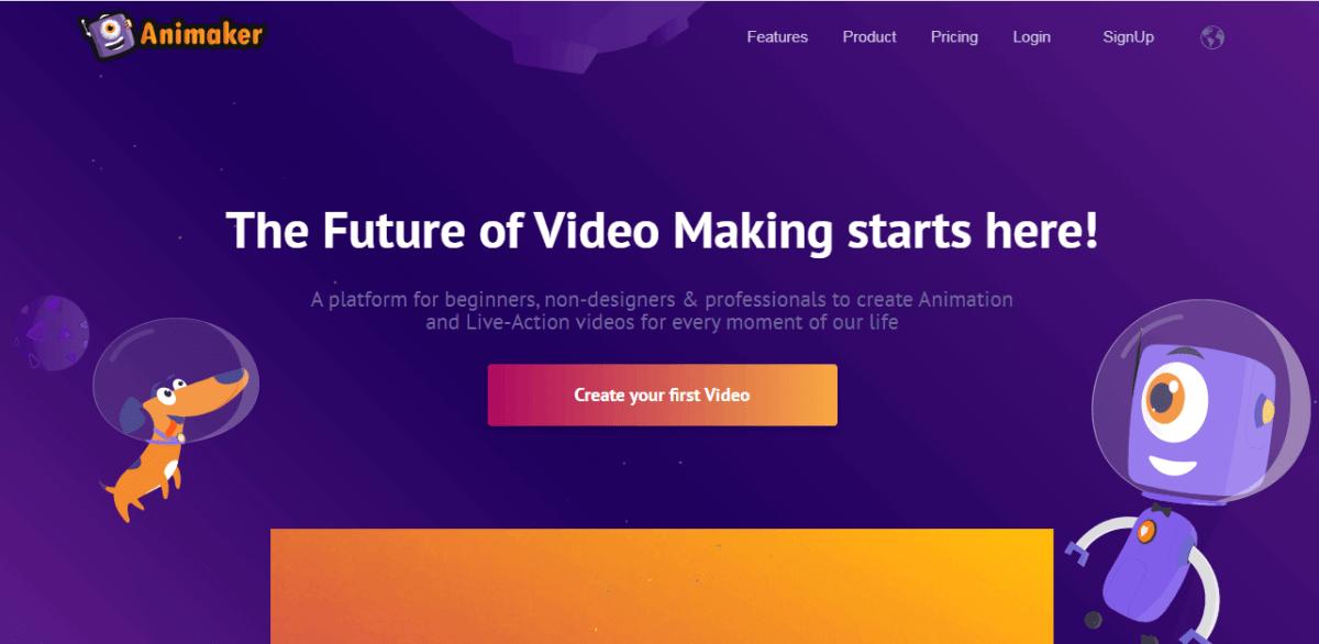 animaker best blogging tools