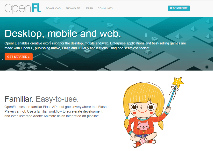 flash to html5 openfl