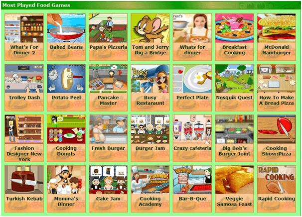 best food games