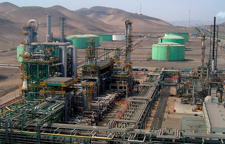Refino del petroleo - La Pampilla