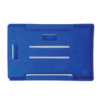 Rigid Plastic Badge Holder