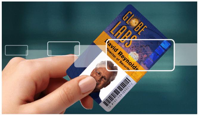 Holographic Overlaminate Card