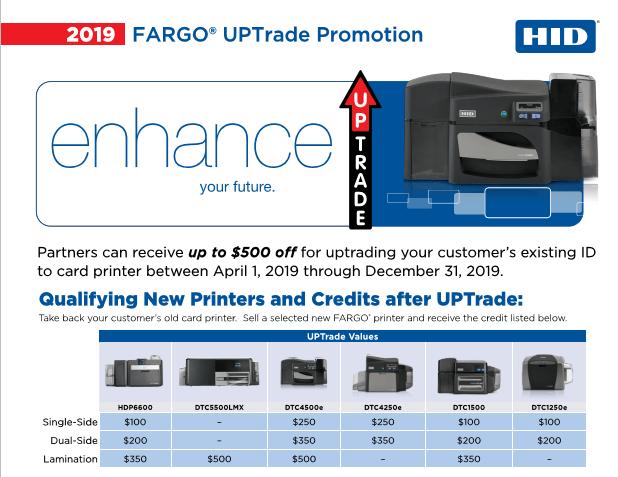 2019 Fargo Trade Up Promo 1