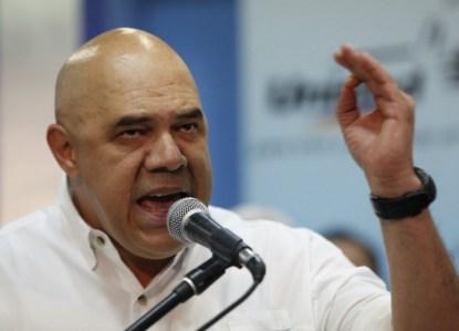 """Jesús """"Chúo"""" Torrealba, Secretario Ejecutivo MUD FOTO: UnidadVenezuela."""