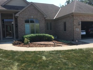 New Berlin Home Front Before Landscape Renovation by Integrity Landscape