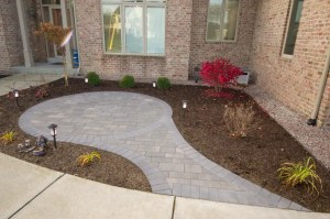 Beautiful Brick Seating Area in New Berlin by Integrity Landscape