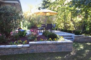 Elevated Brick Patio Renovation in Fox Point, WI