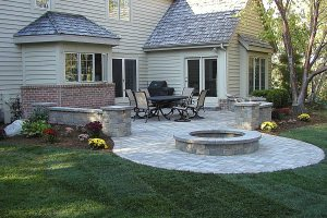 Deck Removal and New Brick Patio in Brookfield, WI