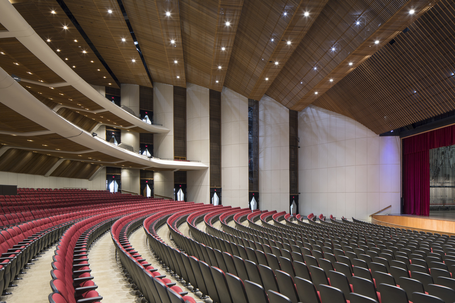 First Interstate Center For The Arts Renovation Gt Integrus