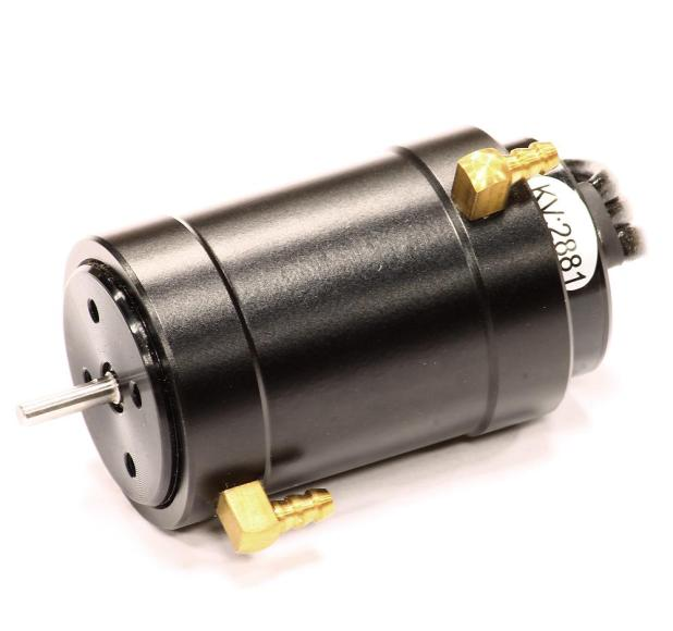 540 size brushless boat motor for Rc electric motor oil