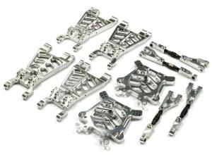 T6726SILVER Alloy T3 Suspension Set for HPI Savage Flux, X