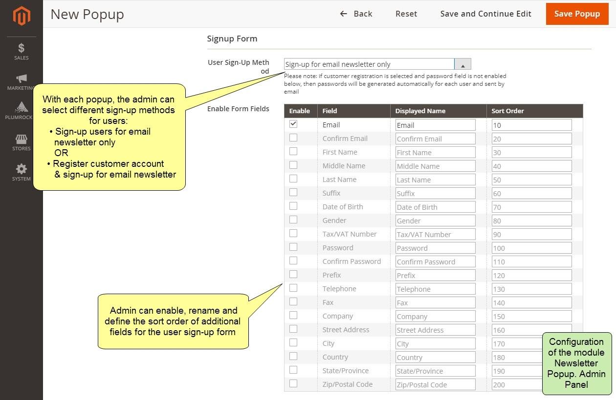 Nieuwsbrief Popup Extensie voor Magento 2-46