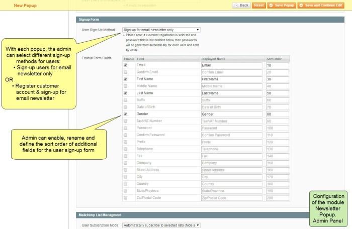 Nieuwsbrief Popup Extensie voor Magento 1-94