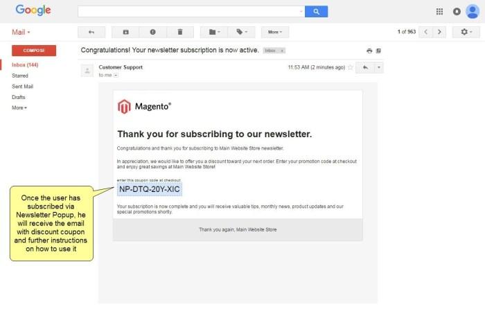 Nieuwsbrief Popup Extensie voor Magento 1-90