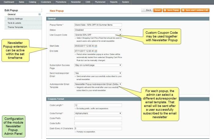 Nieuwsbrief Popup Extensie voor Magento 1-93