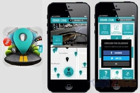 Cidade Legal – Novo App para gerenciar os problemas das cidades