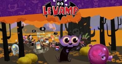 O pequeno Le Vamp só quer brincar como qualquer outro menino.