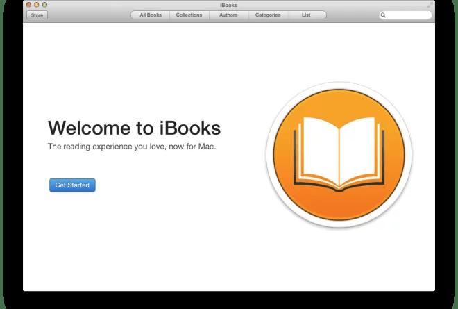 OS X Mavericks Developer Preview 5 traz em seu update iBooks