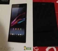 Sony Z Ultra com SnapDragon 800