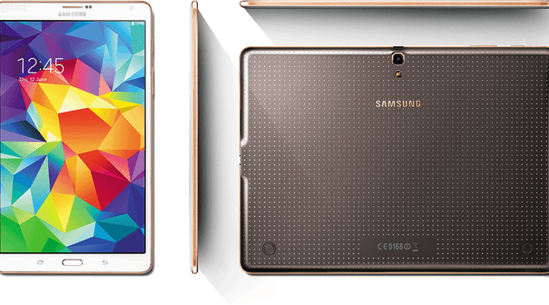 Galaxy Tab S lindo visual