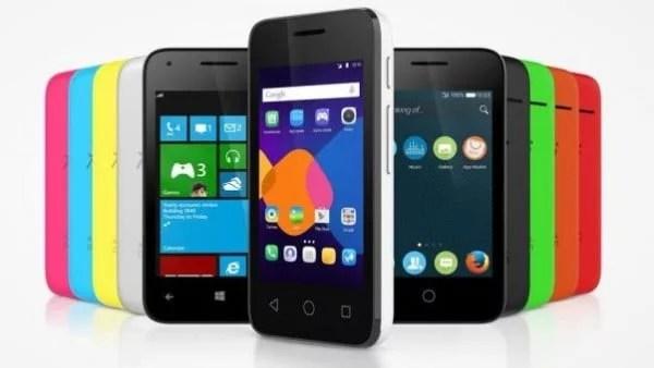 Alcatel Pixi 3 permite ao usuário instalar Android, Windows ou Firefox OS