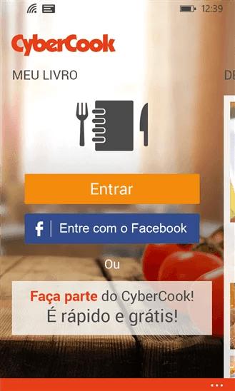 Receitas diferentes e compartilhadas agora também no Windows Phone