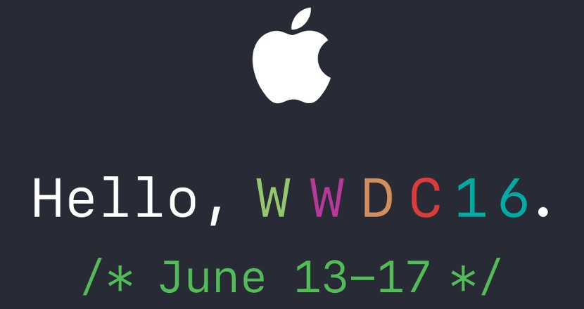 Convite do Evento da WWDC 2016