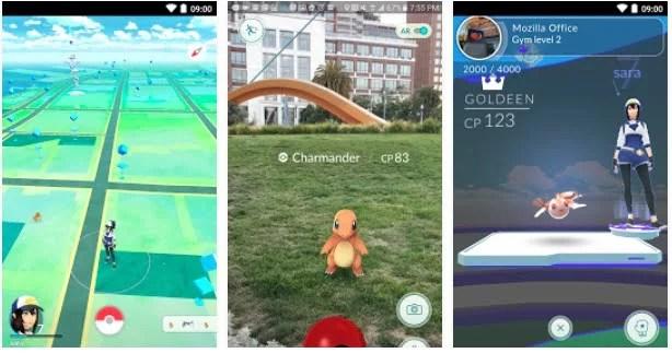 Tele demonstrativa de Pokemon Go