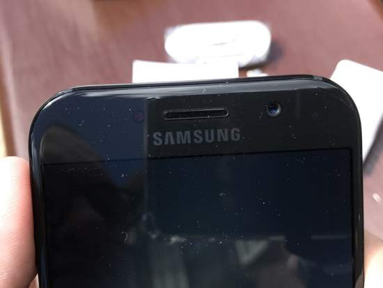 Câmera frontal do Samsung Galaxy A5 (2017)