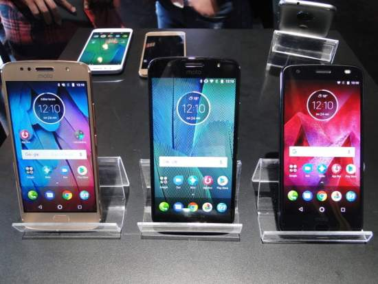 Moto G5S, Moto G5S Plus e Moto Z2 Force