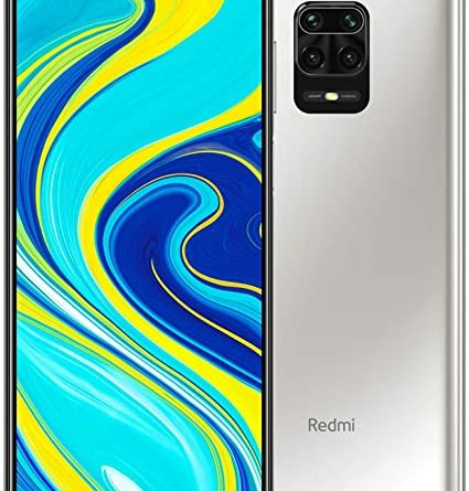 Smartphone Xiaomi Redmi Note 9S - 4GB + 64GB - Versão Global - Glacier White