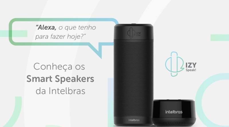 Smart Speaker IZY Speak! | Intelbras