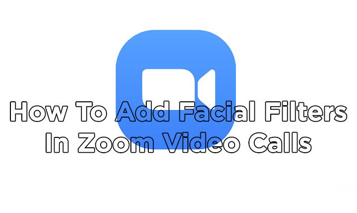 Как добавить фильтры для лица при видеозвонках Zoom