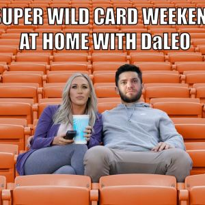 NFL Regular Season Recap & Wild Card Weekend Preview: At Home with DaLEO