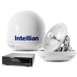 Intellian i3 System with 37cm (14.6 inch) Reflector & Universal Dual LNB