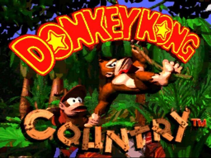 Donkey Kong Country - Splash