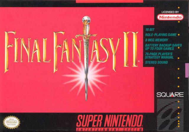 Final Fantasy IV - II Box Art