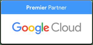Logo Google Cloud Premier Partner Cloud Computing