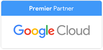 Logo Google Cloud Premier Partner Cloud Computing