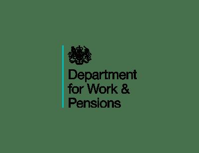 Logo Departament for Work & Pensions