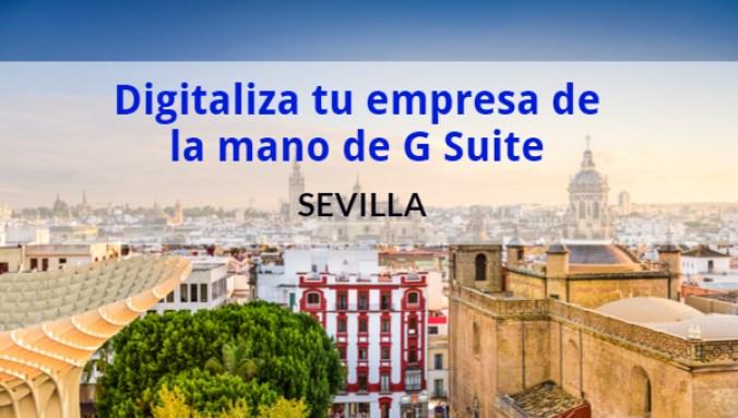 Evento G Suite Sevilla