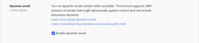 Novedades de Gmail