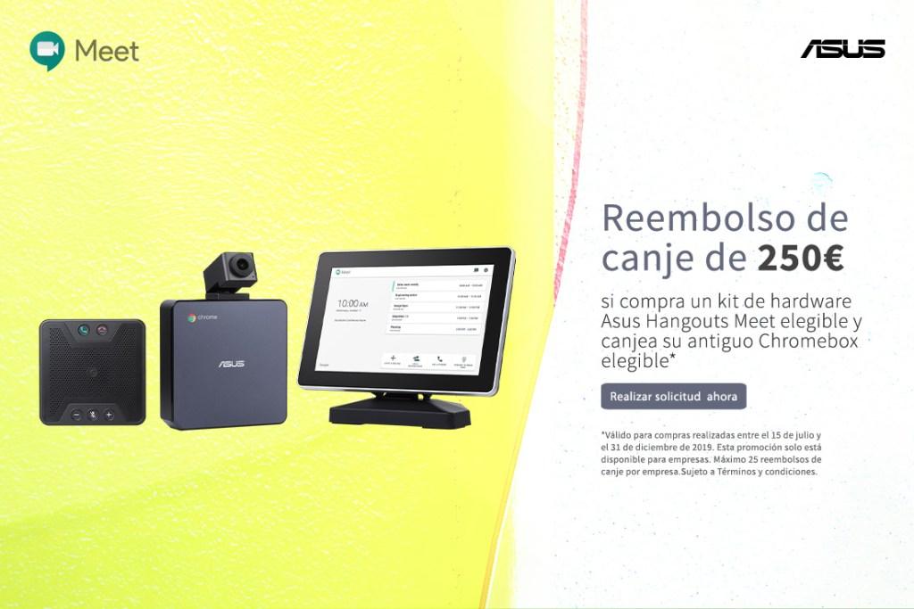 Promocion Hangouts Meet Hardware