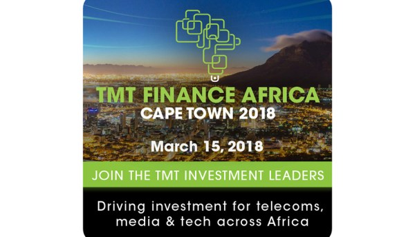 TMT Finance Africa in Cape Town event announced for March 2018
