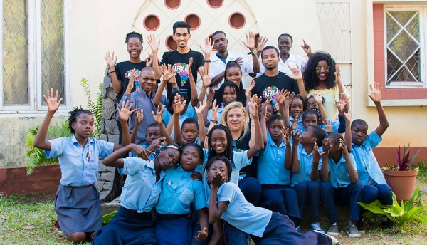 Hearing-impaired children in Mozambique learn how to code