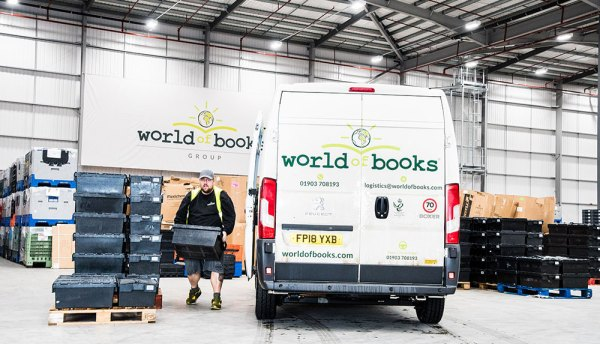 World of Books targets mileage, time and cost savings with software