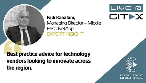 Live @ GITEX: Fadi Kanafani, Managing Director – Middle East, NetApp