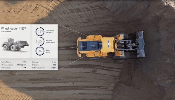 Nokia WING demonstrates just how smart a bulldozer can be