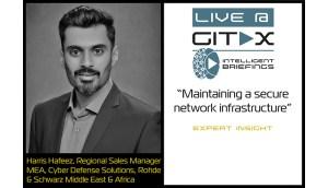 Live @ GITEX: Harris Hafeez, Regional Sales Manager MEA, Cyber Defense Solutions, Rohde & Schwarz
