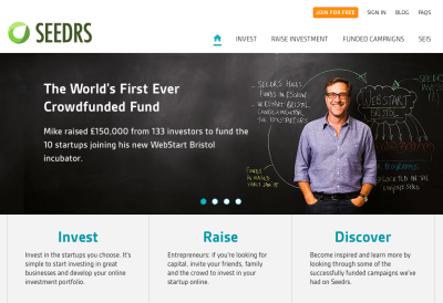 UK Equity Crowdfunding Platform Seedrs